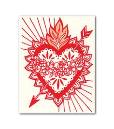 Sacred Heart Cards | Beau Ideal Editions