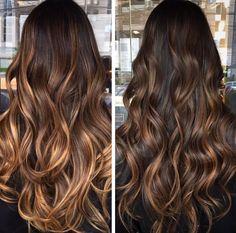 Brown Hair Balayage, Hair Color Balayage, Hair Highlights, Ombre Hair, Daniel Golz, Perfect Hair Color, Haircuts For Long Hair, Brunette Hair, Dark Hair