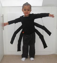 easy diy halloween costume ideas for 2016 spider halloween costume big spiders and halloween costumes - Kids Spider Halloween Costume