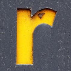 letter r by Leo Reynolds, via Flickr