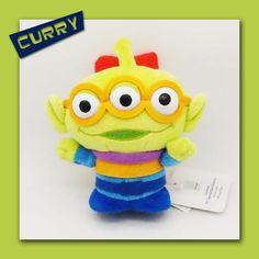 (CURRY反斗奇兵精品專賣店)Toy Story 15cm 系列三眼仔(Aliens)毛公仔(原裝日本進口)