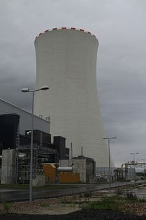 Robodrone test flight at Pocerady Power Plant Plant, Plants