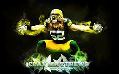 Green Bay Packers Clay Matthews