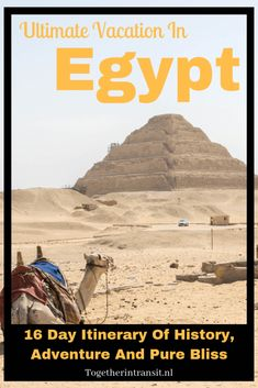 Ultimate Egypt Vacation Itinerary of the top historical highlights through Cairo & Giza, Luxor, Nile Cruise to Aswan and pure bliss in Hurghada in 16 days. Egypt Travel, Africa Travel, Africa Destinations, Travel Destinations, Egypt Culture, Great Pyramid Of Giza, Visit Egypt, Valley Of The Kings, Pyramids Of Giza