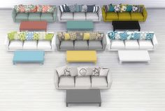 7 new living room sets
