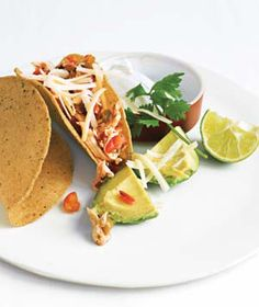 Quick and easy chicken tacos!