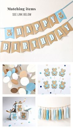 Excited to share the latest addition to my shop: Teddy Bear Circle Paper Garland Teddy Bear Baby Shower Decoration Baby Boy Birthday Photo Backdrop Boy Nursery Blue Brown Paper Garland Teddy Bear Party, Teddy Bear Birthday, Teddy Bear Baby Shower, Baby Boy First Birthday, Baby Shower Niño, Baby Shower Favors, Baby Shower Themes, Teddy Bears, Birthday Box