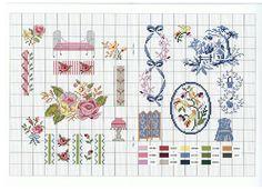 View album on Yandex. Small Cross Stitch, Cross Stitch Borders, Cross Stitch Samplers, Cross Stitch Flowers, Cross Stitch Charts, Quilt Stitching, Cross Stitching, Cross Stitch Embroidery, Embroidery Patterns