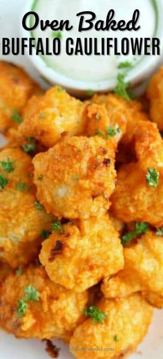 These easy homemade buffalo cauliflower bites are simple, delicious, and great for parties. We love making this healthy recipe when we are entertaining! cauliflower Oven Baked Buffalo Cauliflower Bites- Spend With Pennies Baked Buffalo Cauliflower, Cauliflower Recipes, Vegetable Recipes, Vegetarian Recipes, Cooking Recipes, Healthy Recipes, Baked Cauliflower Bites, How To Cook Cauliflower, Vegetarian Barbecue