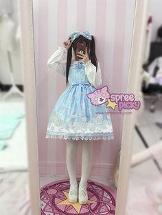 Ice Doll Wonderland Shirt/JSK Dress SP168012