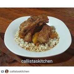 #Repost @callistaskitchen with @repostapp  Filipino Adobo Baby Back Ribs with Pineapple. Made with organic soy sauce and apple cider vinegar. #adobo #filipino #ribs #foodporn #yummy #foodie #healthycooking #healthyeating #healthychoices #healthylifestyle #healthy #food #foodpic #instafood  #cleaneating #organic  #glutenfree  #nongmo
