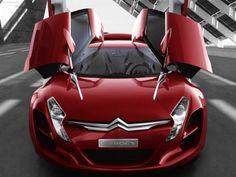 Amazing Citroen Concept Car HD Widescreen Wallpaper