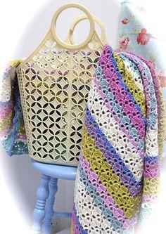 Serendipity Crochet Blanket by Laurie Leonard   Flickr - Photo Sharing!