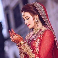 Image may contain: 1 person Bridal Poses, Bridal Photoshoot, Bridal Shoot, Pakistani Bridal Makeup, Pakistani Wedding Outfits, Wedding Lehanga, Asian Bridal Dresses, Wedding Dresses For Girls, Bridal Pictures