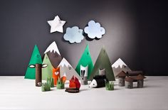 Calendario dell'Avvento per Bambini Fai da Te Decorazioni di Natale