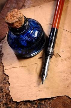 Caneta e o tinteiro