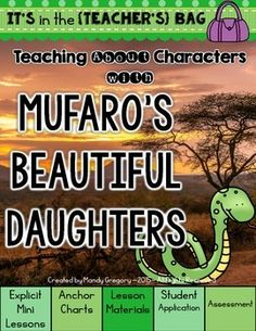 mufaros beautiful daughters book just bcause