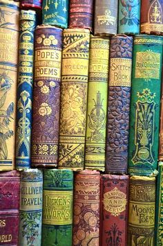Books Power!...Haven't read these, but think they look so beautiful!!