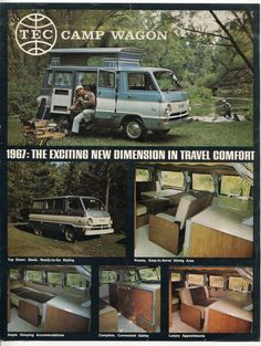 TEC Camp Wagon 1967 - The Exciting New Dimension In Travel Comfort ★ Freedom on wheels ★ . . Campers ★ Caravans 3