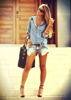 Shorts Saia Jeans | Shorts, Clothes and Royal blue outfits