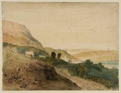 Joseph Mallord William Turner, 'Scene in Lancashire or North Wales' c.1808