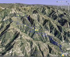 Echo Mountain and Inspiration Point.  A great hike in the lower San Gabriels to incredible vistas, forested mountain canyons, and the ruins of a turn-of-the-century mountaintop resort.   The Basics: Distance: 10.4 miles – Elevation Gain: 2740 feet – Time: 4 hours, 40 minutes – Trail Condition: Very good.