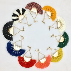 Hot trending item: Cotton Handmade F... Check it out here! http://jagmohansabharwal.myshopify.com/products/cotton-handmade-fringed-ethnic-jewelry-style-earrings-for-women?utm_campaign=social_autopilot&utm_source=pin&utm_medium=pin