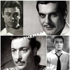 omar el sherif , ahmed ramzy , roshdy abaza and shokry sarhan Egyptian Actress, Old Egypt, Golden Age, Actors & Actresses, Musicians, Legends, Nostalgia, Cinema, Stars