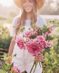 Flower farmer for a