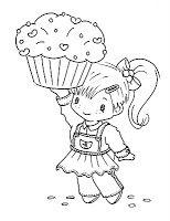 Sliekje digi Stamps: Cupcake
