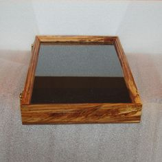 12 X 18 Spalted Gum Indian Artifacts display case.