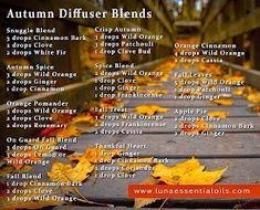 Fall Essential Oils, Essential Oil Diffuser Blends, Essential Oil Uses, Young Living Essential Oils, Doterra Diffuser, Doterra Oils, Doterra Blends, Aroma Diffuser, Diffuser Recipes