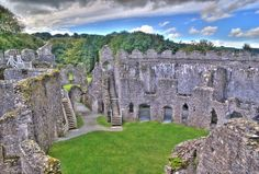 Restormel Castle is situated on the River Fowey near Lostwithiel, Cornwall, England. It is one of the four chief Norman castles of Cornwall.