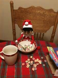 Most current Pictures Elf getting a head start on breakfast. Suggestions Elf getting a head start on breakfast. Christmas Love, Christmas Holidays, Christmas Ideas, Merry Christmas, Bad Elf, Elf On The Self, Naughty Elf, Holiday Fun, Holiday Decor