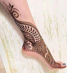Full Leg Henna design 2018