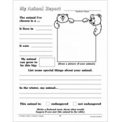 Animal report template buscar con google animals pinterest my animal report sheet 2 fill in research scholastic pronofoot35fo Image collections