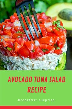 This Avocado Tuna Salad Recipe is quick and easy keto avocado recipe that is perfect for a healthy lunch or a simple low carb meal. This week I made this keto Avocado Tuna Salad for lunch and dinner. It is one of my favorite Relish Recipes, Carrot Recipes, Bacon Recipes, Appetizer Recipes, Healthy Recipes, Escarole Recipes, Argula Recipes, Fennel Recipes