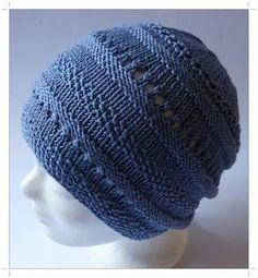 Eine gut verständliche Strickanleitung für eine Baumwollmütze mit verschiedenen Strukturmustern. Die Mütze ist absolut stylisch und wunderbar angenehm zu tragen. Sie sitzt schön dezent. Kopfumfang 56 – 60 cm, Höhe 21 cm