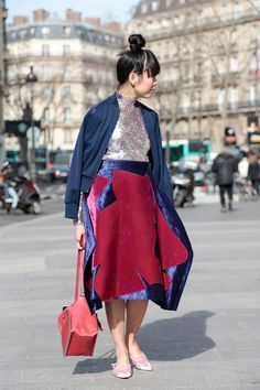 Street Style, Paris Fashion Week: 26 snaps of the boldest pops of colour outside the shows