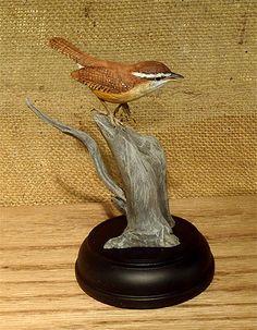 Carolina Wren Mini - by Bob Guge
