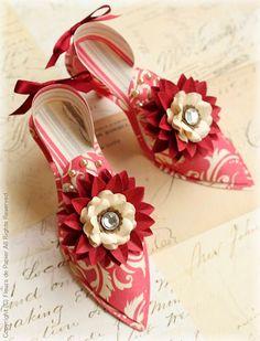 $Fleurs de Papier ~Paper Shoes