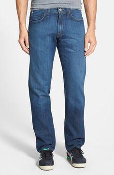 Men's Agave 'Pragmatist Sandspit Supima Medium' Straight Leg Japanese Denim Jeans