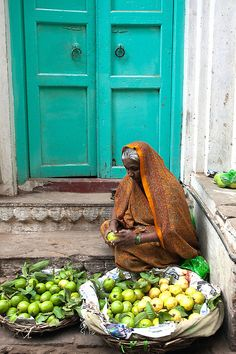 Open Air Market. India
