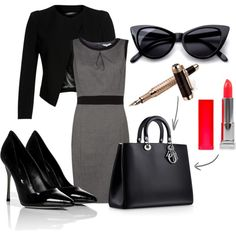 Buisness or Pleasure? by nicolegrech on Polyvore