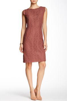 Cap Sleeve Lace Dress by Amelia on @HauteLook