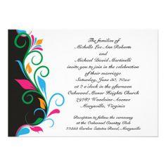 Getting married save the date wedding invitation zen wedding deco leaf border wedding invitation stopboris Gallery