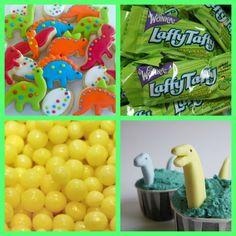 dinosaur party ideas: menu