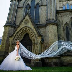 Going to the chapel and we're - gonna get married..  Our lovely #PninaBride @teja.federico in a stunning #PninaTornai sheer corset ball gown. Tag a girlfriend that would look gorgeous in this gown! For the full brbreathtaking Image go to our Facebook/Twitter: @pninatornai Photography by: @paul_and_sylvia