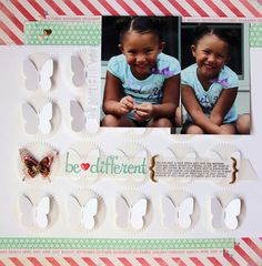 Page created by Scraptastic Kit Club DT Member Nancy Damiano with the Worth Wondering kit