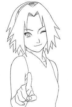 Desenhos Para Colorir Do Naruto 40 Opcoes Para Imprimir Em 2020